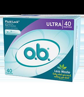 o.b.®  Original Ultra Tampons