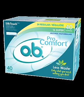 Tampons o.b. PRO COMFORT en multi-emballage